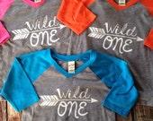 Birthday Shirt wild one Birthday Shirt Many Colors and Sizes Kids Birthday Shirt Arrow Birthday shirt Hipster