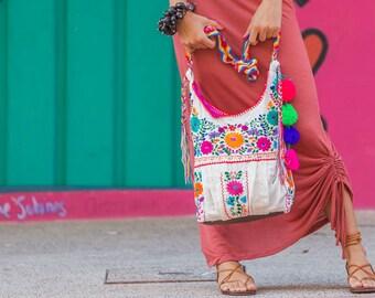SALE Crossbody Handbag Mexican Embroidered Jody