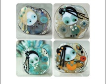 "Creeky Beads ""Creeky Me"" Lampwork Tutorial by Wendy Willmott"