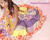 Purple Twirl Dress