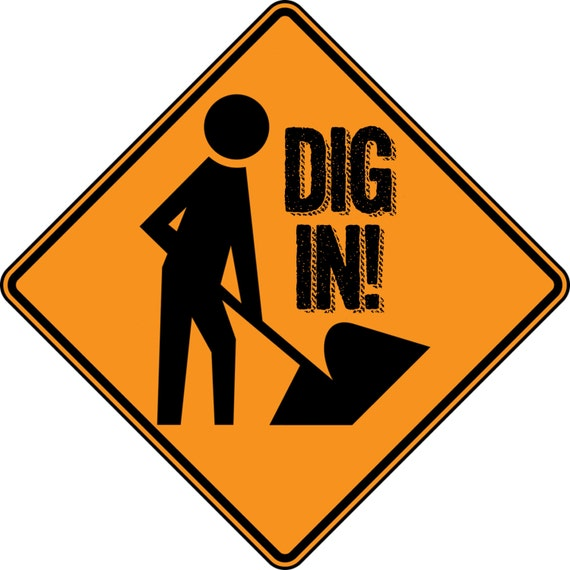 Intrepid image pertaining to printable construction signs