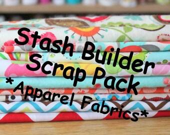Apparel Fabrics Stash Builder Scrap Pack, 2 Pounds