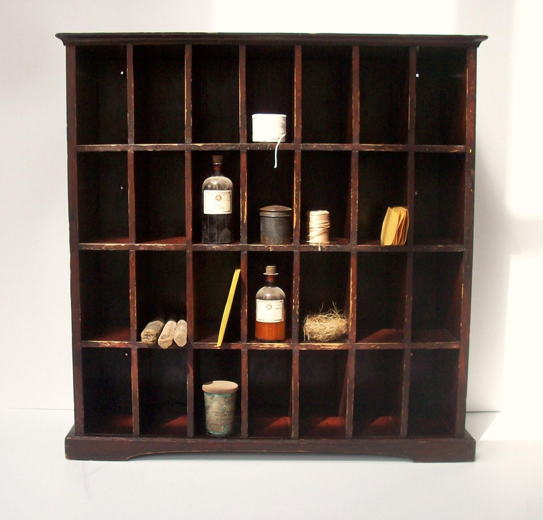 Mail Order Kitchen Cabinets: Vintage Postal Cabinet / Mail Sorter / Collection By