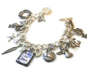 Kate Bush  Charm Bracelet - BEFORE DAWN  - limited edition Etsy uk