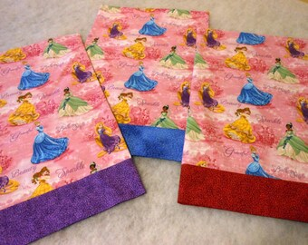 Pillowcase Princess Travel Size with Choice of Bands