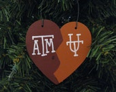 2114 House divided Christmas ornament