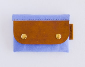 Salzburg Card Wallet - Corflower Blue