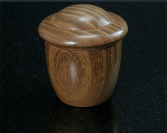Osage Orange Lidded Vessel ORO-037