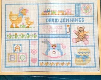 "My Baby Keepsakes Counted Cross Stitch Kit –  Sunset No. 2990 – 9"" x 12"""