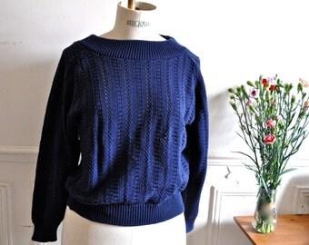 Vintage Spring Summer Sweater