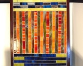Stained Glass Mosaic Abstract Art Mixed Media Housewares Home Decor Wall Decor Wall Hanging