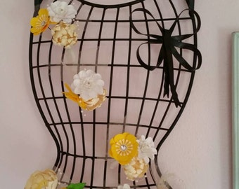 Paper Flowers Bouttoniere for Wedding, Birthday, Bridal or Baby Showers Decorations (set of 2)