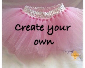 NEW PRODUCT Create your own 12 month solid toddler tutu