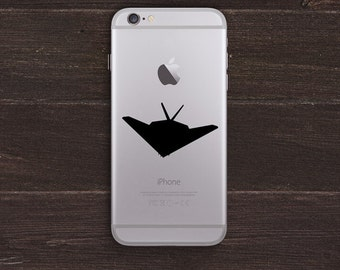 Stealth Bomber Vinyl iPhone Decal BAS-0311