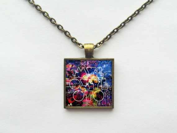Coldplay - Mylo Xyloto Album Cover Necklace OR Keychain