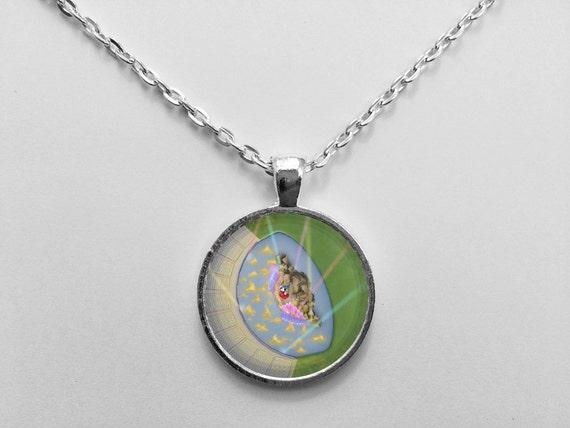 Fantasmic! Necklace from Walt Disney World Hollywood Studios Park Map