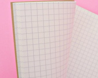 Field Notes-size Notebook, Grid, Rainbow or Ivory