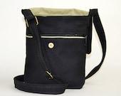 The Muse, a little organic hemp bag