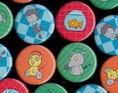 Robot Girl Buttons- The Robot Girl & Her Robot World Series