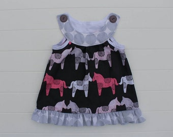 ON SALE Wooden Horses Lucy Lollipop Top available in sizes 18m, 2T-6 girls