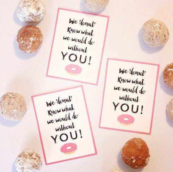 donut thank you sayings | just b.CAUSE