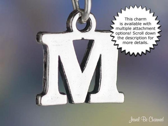 m letter in silver - photo #27