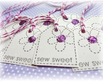 Sewing - Sew Sweet - Mini Tags - Gift/Hang tags (8)