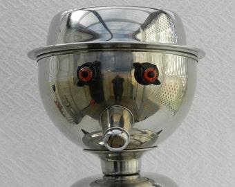 Mr. Attitude Robot Assemblage- Junk Art Sculpture-Found Object Robot