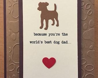Custom Dog Father's Day Card
