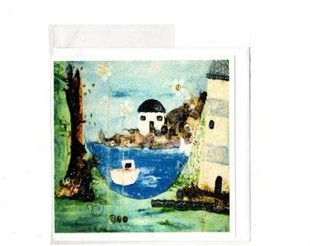 Square greeting card 16cm x 16cm
