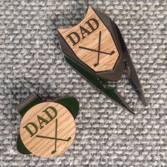 Personalized Golf Ball Marker Divot Tool Set,Groomsman Groomsmen Gifts,Best Man Dad Gift,5th Anniversary Husband Grandpa,Golf Gift for Men