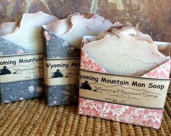 Wyoming Mountain Man Soap
