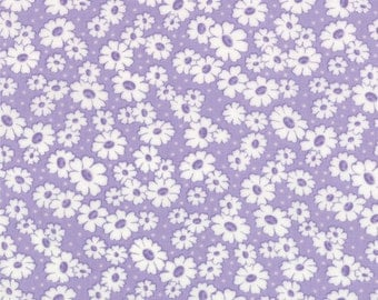 30's Playtime - Simple Daisy in Lilac by Chloe's Closet for Moda Fabrics