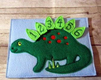 Counting Dinosaur, Number practice, Skip Counting, Count to 20, Learning Tool, Teacher Gift, Learning Center, Birthday Gift, Kids Gift