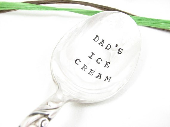 Dad's Ice Cream Spoon