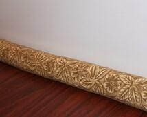 SALE.  Door Draft Stopper Leilani Stripe Pattern
