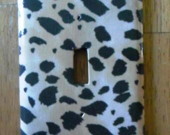 Single Switch Plate - Cheetah Print