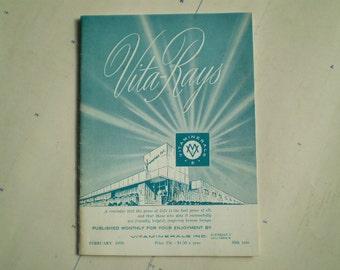 Vita-Rays - 1970 - A Magazet of Goodwill - Vintage Magazine