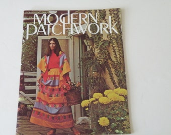 Modern Patchwork by Rachel Martens. 1970s.  Paperback.