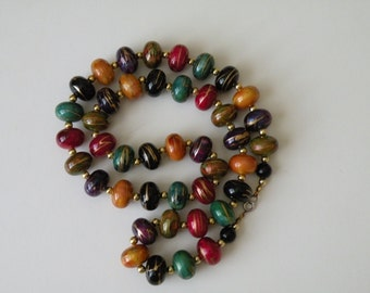 20% off Multi-Color & Multi-Bead Plastic Necklace.