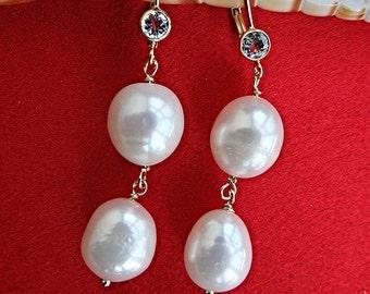 Beautiful Pearl & Aquamarine