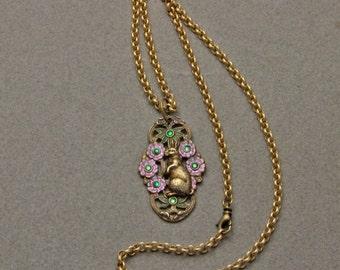 Rabbit In The Garden Necklace