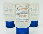 HAND SANITIZER - Sweet Orange & Mango, Essential Oils, antibacterial, hand wash, hand gel, natural, handmade