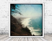 Jagged Edge - PHOTO, Big Sur, California photography, California coast, Pacific Ocean, landscape, scenery, ocean decor, ocean art