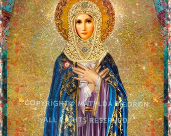 Holy Mother Poster Print