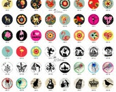 ALL NEW Design Glass Cabochon 12mm 20mm 25mm 30mm( 25mm Flat )Handmade Photo Glass Cabochon -Image Glass Cabochon-(HPP-G) Part 142