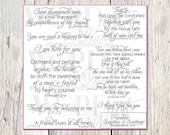 Friendship Scripture Digital Word Art--Scriptures & Sentiments for Cards and Photo Overlays- KJV Scripture Quotes-Instant Download