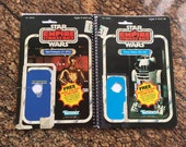 R2-D2 & C-3PO Recycled Original Vintage Star Wars The Empire Strike Back Notebook/Journal