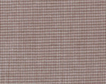 1/32″ Chocolate Micro Gingham Fabric