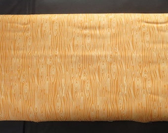 Weekly Sale - Riley Blake - Happy Harvest Wood Fabric - Orange - Fall Fabric